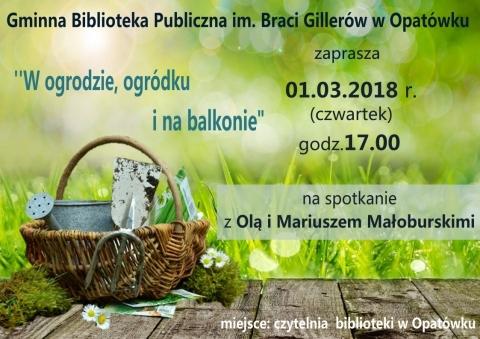 Spotkanie z Małoburskimi