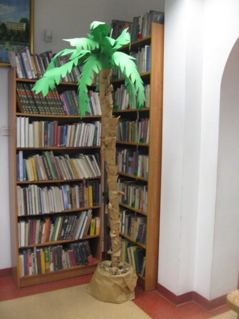 Palma w bibliotece