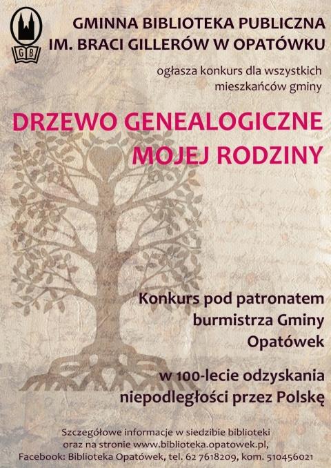 konkurs genealogiczny