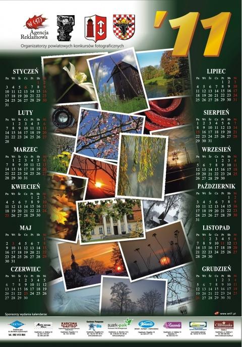 Kalendarz 2011 Cztery Pory Roku powiat kaliski