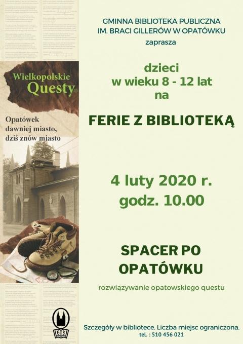 Ferie w bibliotece - quest