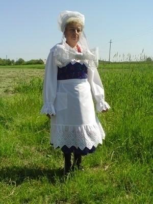 Ludowy strój kaliski - Sierzchów