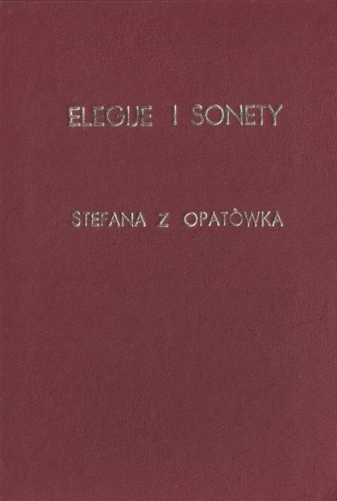 Elegije i sonety
