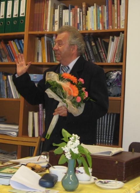 Jan Gross w Opatówku